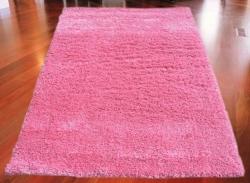 Koberec Shaggy růžový