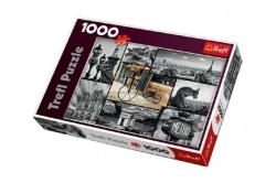 Puzzle Paříž koláž 1000 dílků 68x48cm v krabici