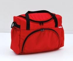 Taška na kočárek červená