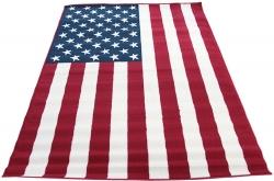 Koberec Americká vlajka, Rozměr koberce 80x150cm