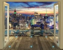 3D tapeta New York