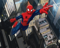 3D tapeta Ultimate Spiderman
