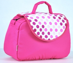 Taška na kočárek Kapky růžové