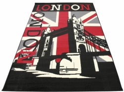 Koberec London Bridge black