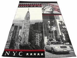 Koberec NYC Empire State black