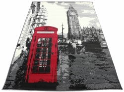 Koberec Big Ben Telephone grey