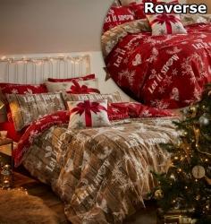 Povlečení Vánoční výzdoba
