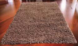 Koberec Shaggy čoko, Rozměr 80x150cm