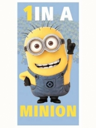 Osuška Despicable Me 1 in a Minion mimoň