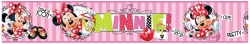 Bordura Minnie Mouse Pink