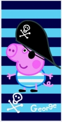Osuška - Peppa Pig George Pirate