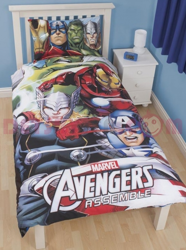 Povlečení Marvel Avengers Team Single 3D